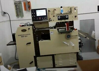THERMO-O-TYPE NSF A3+ Printing Press Imprinting Foil Stamping Embossing Fusing