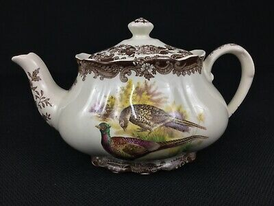 Royal Worcester Palissy Game Series Birds Teapot
