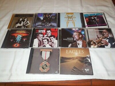 Lot of 10 CD's. 70's and 80's