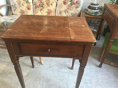 Vintage  Singer Sewing Machine Cabinet #40 for15-91, 66, 127, 201, etc