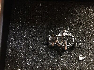 Official Square Enix FFXV Sterling Silver Ring of the Lucii used w/box FF15