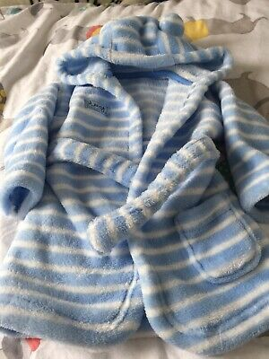 baby boys dressing gown 0-6 Months Look