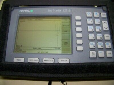 Anritsu S251B option 5 two port Site Master new smart battery,charger Full Test!