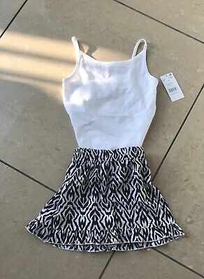 Girls Shorts & Vest Top Outfit Age 6-7 BNWT