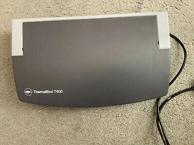 GBC Thermabind T400 Thermal Binder Hardly Used Very Clean Bargain Price