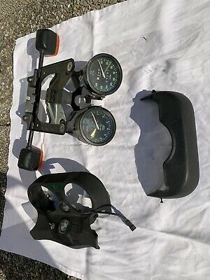 BMW R65 Intruments + Front Blinkers and Mounting Bracket