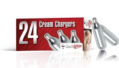 QuickWhip 48 Canisters N2O Nitrous Oxide 8g Cream Chargers