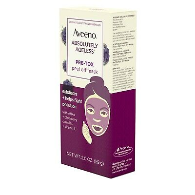 Aveeno Absolutely Ageless Pre-Tox Peel Off Mask (Pack of 3)