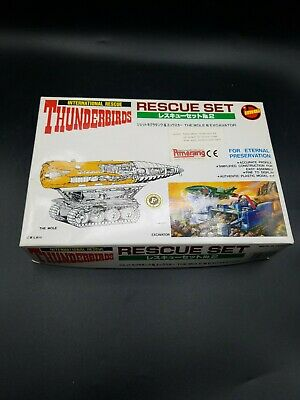 Thunderbirds International rescue set the mole & excavator Imai Plastic Model