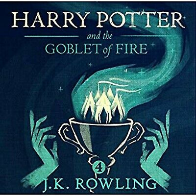 Harry Potter and the Goblet of Fire Audio Book 4Mp3 CD Audiobook JK Rowling