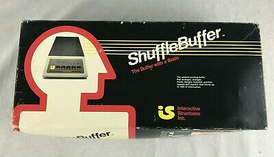 Interactive Structures, INC. Shuffle Buffer Apple, Commodore Buffer With a Brain