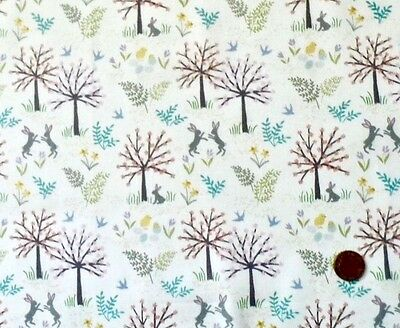 Flowers Col 3 100/% Cotton Fabric Salisbury Spring D#A207 Lewis And Irene