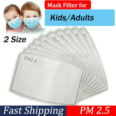 Face Cover Pad For Kids Adults Two Size Face Shield Filters Gaskets 5 Layers Pad