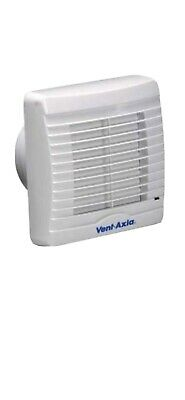 Vent Axia VA100XP Extractor Fan with Pullcord Shutters