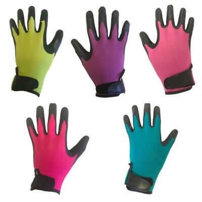Town & Country Professional Weed Master Plus Protective Gardening Gloves Strap