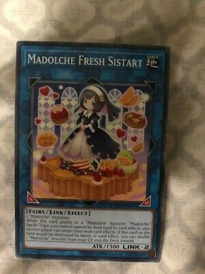 Unlimited Edition x3 FLOD-EN097 Madolche Fresh Sistart Common Near Mint
