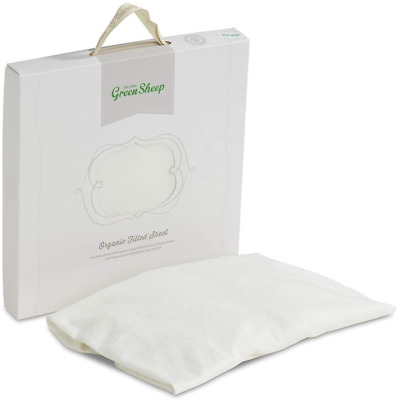 The Little Green Sheep Organic Cotton Cot Fitted Sheet