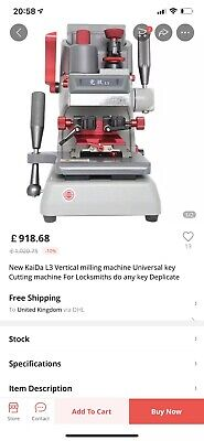 Key Cutting Machines Set Ideal Start Up