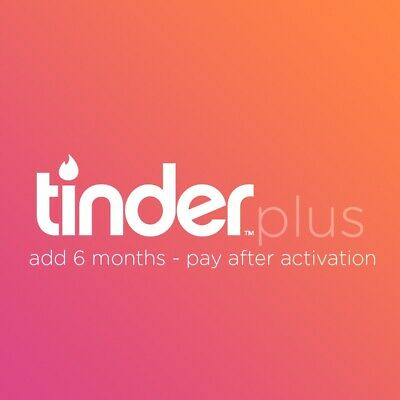 DISCOUNT | COUPON | CODE | PROMO | TINDER PLUS add 6 MONTHS | ANY REGION