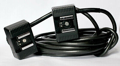 Unbranded 4 matre dedicated flash extension lead for Canon FD cameras.