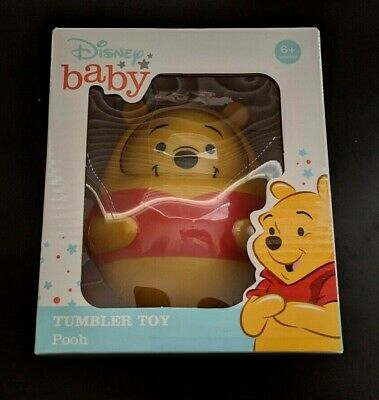 Disney Baby Pooh Bear Winnie the Pooh Tumbler Toy Child 6-Month Up SAME-DAY SHIP