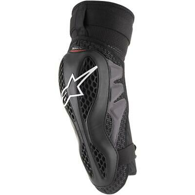 Alpinestars Sequence Knee Protector Black/Red (Black, XX-Large)