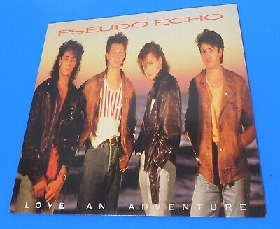 "Pseudo Echo  ""Love An Adventure"" Lp Album Rca Records 5730-1-R"