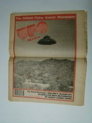 1983 UFO Review #15 Official Flying Saucer Newspaper Photograph Cover