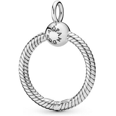 Pandora Silver Moments Small O Pendant 398296 S925 ALE New
