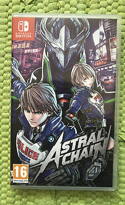 Astral Chain Nintendo Switch VGC!! PAL UK