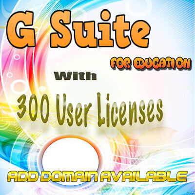 ⚡Domain name with 200 users for Google apps For Education  Add DomainAvailable