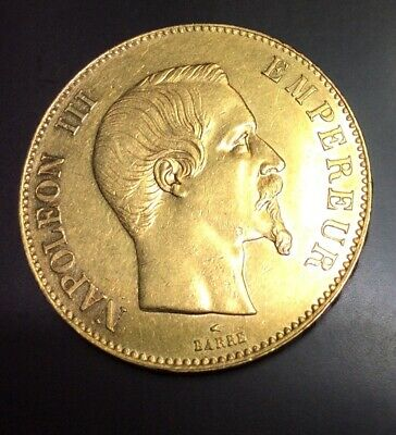 France - 100 Francs Or Napoléon III Tête Nue 1857 A Paris - 100F Or Gold Coin