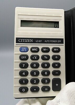 Calculadora Citizen LC-507 electronic calculator, Calculadora vintage.