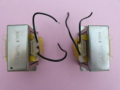 Two (2)  Roger Technical Iron Cored Inductors (Chokes)