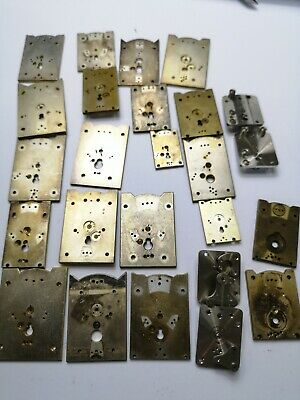 Job Lot of Vintage Clock Platform Escapement Plates for a Clockmaker (CI28)
