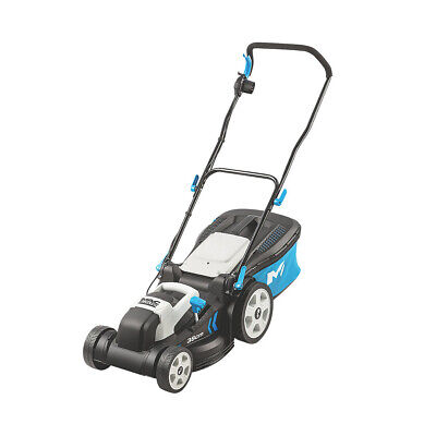 Mac Allister Electric Lawn Mower 38cm 1600W Collection Indicator MLMP1600-2