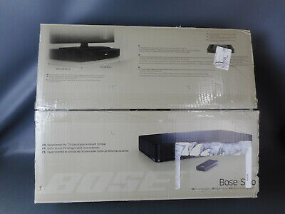 Bose Solo TV Sound System 120V US - Black (347205-1300) Powers On