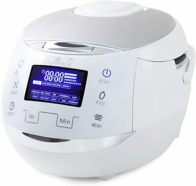Sakura Rice Cooker Multi Function Cooking 8 Cup Electric Food Steamer Warmer