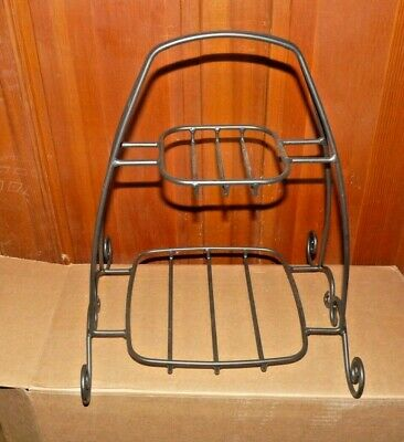 GUC Longaberger Foundry Wrought Iron Two Tier Holiday Buffet Server Stand