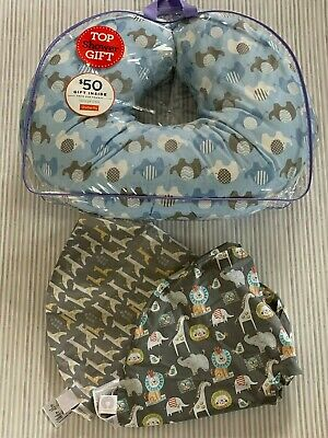 Boppy Infant Nursing Pillow with Set of 3 pillowcase