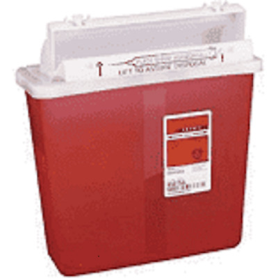 Covidien 8507SA SharpSafety Safety In Room Sharps Container Case of 20