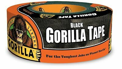 Gorilla Duct Tape Black Roll Tough Wide Waterproof Adhesive Cloth Scotch Crafts