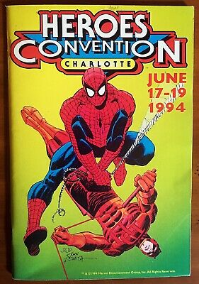 Heroes Convention Program Book Charlotte 1994 VF+ 8.5 THE CROW Preview