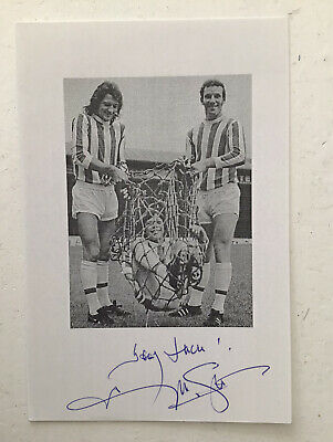 Sportagraphs LTD Frank Worthington Signed Autograph 16x12 framed photo display Leicester City COA