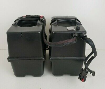 Pride Jazzy 1115 Battery Boxes Set With Wiring Harness Power Wheelchair Parts