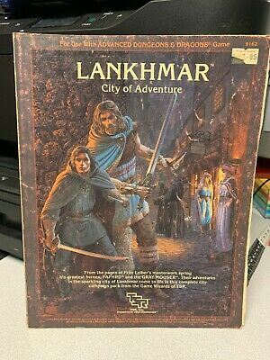Dungeons and Dragons Lankhmar City of Adventure