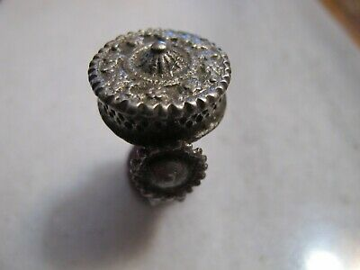 Antique Late  Byzantine Silver Ring
