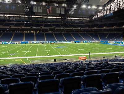 4 TICKETS CHICAGO BEARS @ DETROIT LIONS 9/13 *Sec 105 Row 37*