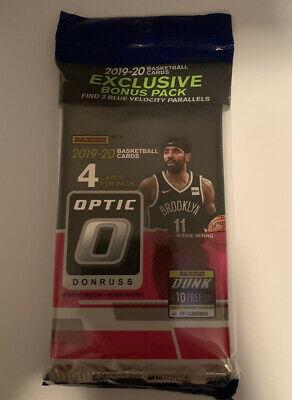 TARGET 2019-20 Panini Donruss OPTIC Basketball NBA CELLO FAT PACK Zion? Morant?