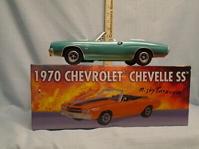 Jim Beam / I.A.J.B.B.S.C.1970 Misty Turquoise Chevelle SS 454 Decanter